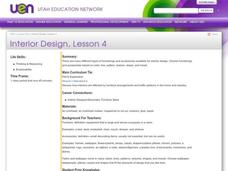 Interior Design, Lesson 4 Lesson Plan