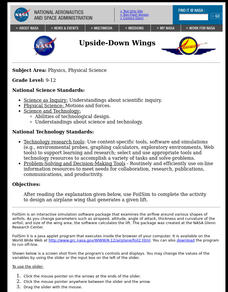 Upside-Down Wings Lesson Plan