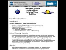 Design of Airfoils and Problem- Solving Using FoilSim Lesson Plan