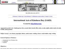 International Acts of Kindness Day Lesson Plan