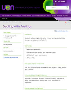 Dealing with Feelings Lesson Plan