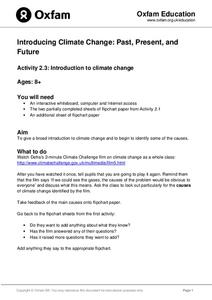 Introducing Climate Change: Past, Present, and Future Lesson Plan
