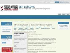 Introducing Models to Elementary School Students Lesson Plan
