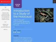 Introduction to a Study of the Holocaust Lesson Plan