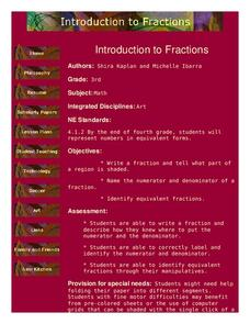 Introduction to Fractions Lesson Plan