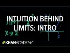 Introduction to Limits Video