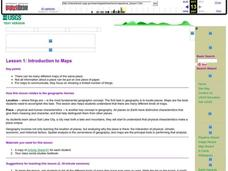 Introduction to Maps Lesson Plan