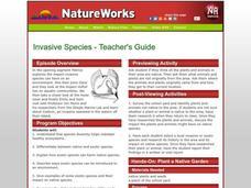 Invasive Species Lesson Plans & Worksheets | Lesson Planet