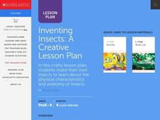 Inventing Insects Lesson Plan