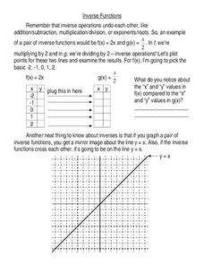 Inverse Operations Worksheet
