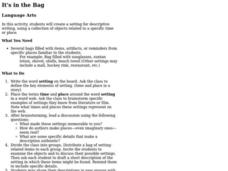 It's in the Bag Lesson Plan
