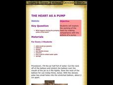 Heart as a Pump Lesson Plan