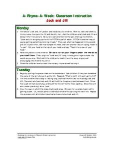 Jack And Jill Lesson Plan