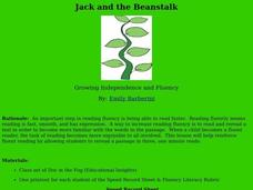 Jack and the Beanstalk Lesson Plan