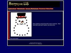 January Worksheets: Snowman Sequencing Worksheet