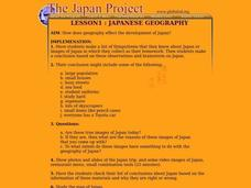Japanese Geography Lesson Plan