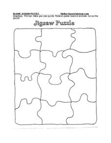 Jigsaw Puzzle Worksheet