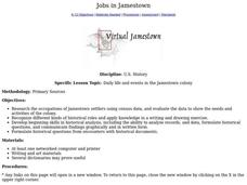 Jobs in Jamestown Lesson Plan