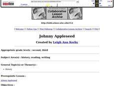 Johnny Appleseed Lesson Plan