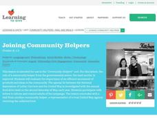 Joining Community Helpers Lesson Plan