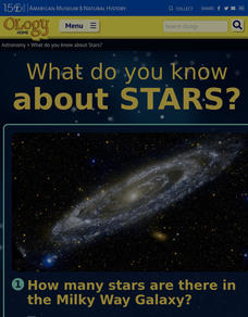 What Do You Know About Stars? Interactive