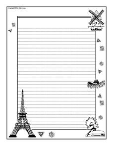 Journal Writing Worksheet