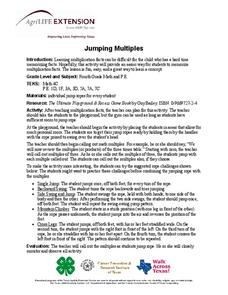 Jumping Multiples Lesson Plan