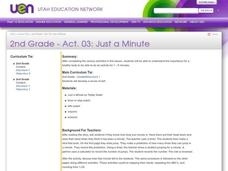 Just a Minute Lesson Plan
