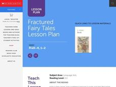 Kate and the Beanstalk Lesson Plan Lesson Plan