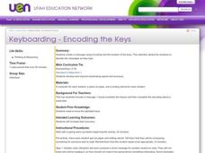 Keyboarding - Encoding the Keys Lesson Plan