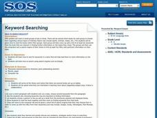 Keyword Searching Lesson Plan