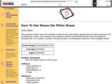 Keys to Our House-The White House Lesson Plan