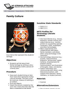 Family Culture: Lesson Plan