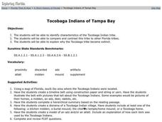 Tocobaga Indians of Tampa Bay Lesson Plan