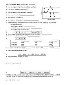 Reaction Rates Lesson Plans & Worksheets | Lesson Planet