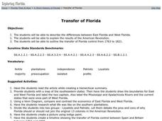 Transfer of Florida Lesson Plan