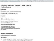 Travels of a Florida Migrant Child: A Social Studies Lesson Lesson Plan
