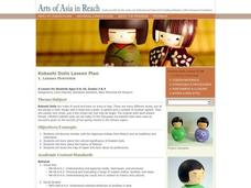 Kokeshi Dolls Lesson Plan