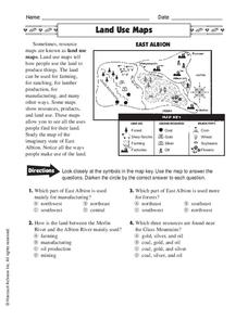 Land Use Maps Worksheet
