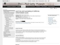 Land Use and Lawmaking in California Lesson Plan