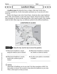 River Landform Lesson Plans & Worksheets | Lesson Planet