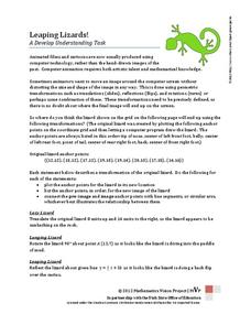 Leaping Lizards Activities & Project