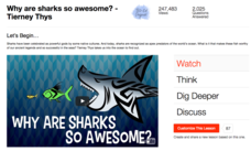Why Are Sharks so Awesome? Video