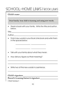 Learning New Words Worksheet