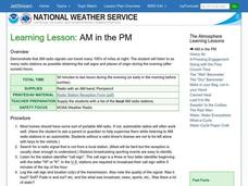 Learning Lesson: AM in the PM Lesson Plan
