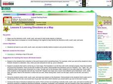 Learning Directions on a Map Lesson Plan