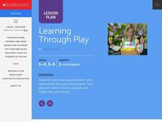 Learning Through Play Lesson Plan