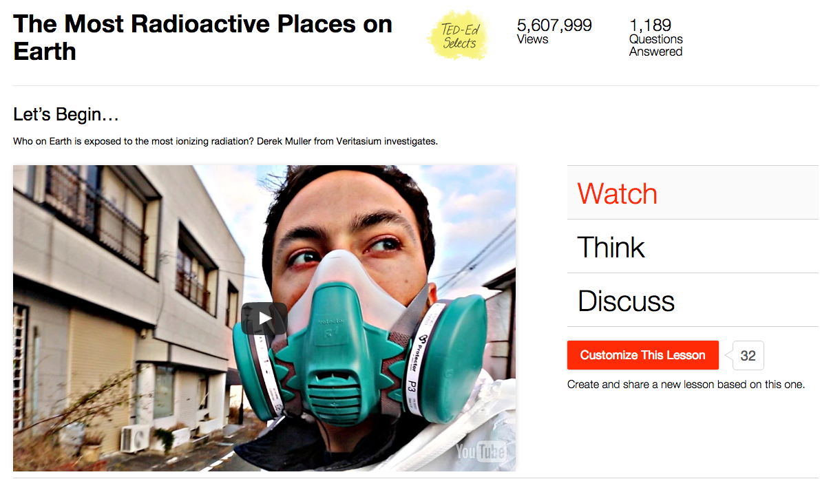 The Most Radioactive Places on Earth Video