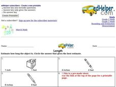 Length Worksheet