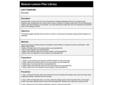 Let's Celebrate! Lesson Plan
